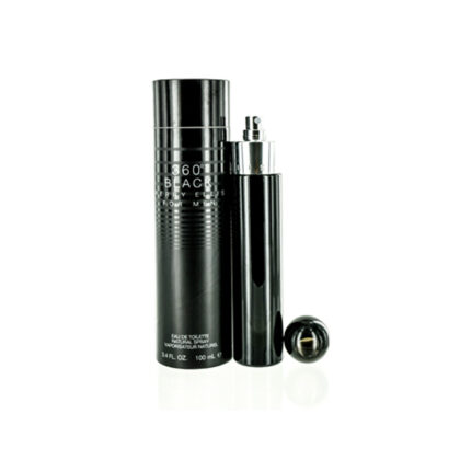 PERRY ELLIS 360 Black EDC Spray For Men 3.4 oz