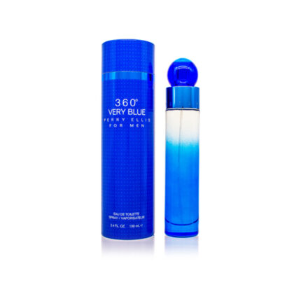 PERRY ELLIS 360 Collection Very Blue EDT Spray For Men 3.4 oz / 100 ml