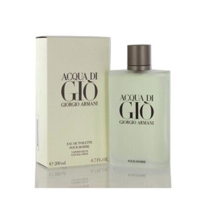 GIORGIO ARMANI Aqua Di Gio EDT Spray for Men 6.7 oz
